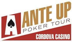 Cordova Casino Ante Up Poker Tour logo