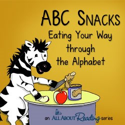 All About Reading releases ABC Snacks series for preschoolers