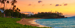 Sunset in Hawaii- planning a day destination wedding in Hawaii