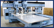 DMS Twin Shuttle Table Twin Head 5 Axis CNC Machine Center