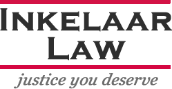 The logo for Inkelaar Law, a Nebraska personal injury law firm