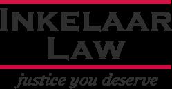 The logo for Inkelaar Law, a Nebraska personal injury law firm