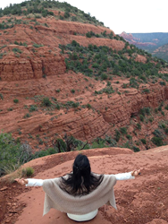spiritual travel, Sedona, vortex, retreat, self-improvement, winter getaway, family relationships, healing from loss, rejuvenation, meditation, conscious relationships, shamanic studies, spiritual guidance, unique holiday travel