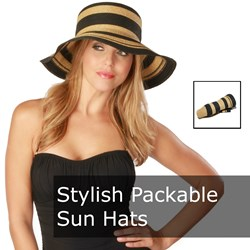 Stylish Packable Sun Hats