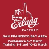 Erlang Factory San Francisco Bay Area 6-7 March