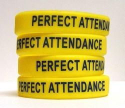 Perfect Attendance Bracelets