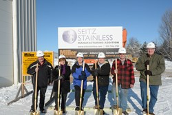 Miller Architects & Builders Breaks Ground on Seitz Stainless Addition in Avon, Minnesota