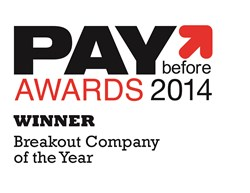 2014 Paybefore Awards Winner