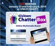 Civicom Chatterbox® Bulletin Board Webinars Scheduled for January...