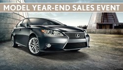 Prestige Lexus Model Year-End Sales Event