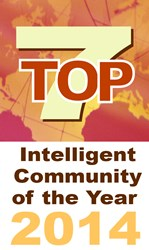 Logo for Top7 Intelligent Communites 2014