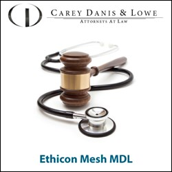 Ethicon mesh MDL
