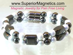 Hematite bracelet superiormagnetics.com