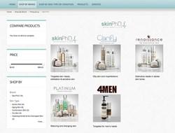 DermPRO SkinPhD ecommerce example