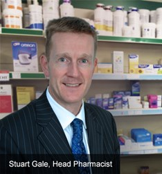 Stuart Gale, Head Pharmacist