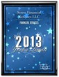 2013 Best of Yorba Linda Awards for Financial Services Given to Sense Financial Services 401K for Self-Employed Program
