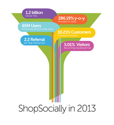 ShopSocially Extends Its Reach to 65 Million Users in 2013