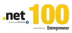 HipLogiq's socialcompass.net ranks on Entrepreneur's .Net100 list