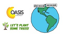 Oasis Energy Announces Plant A Tree Program
