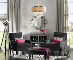 Luxe Living trend from Lamps Plus is among 2014 Interior Design Trends