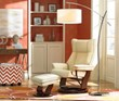 The Modern Mix trend blends mid-century and contemporary designs