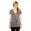 "Back from the Her Universe vault just in time for Valentine's Day, this v-neck tee with original art by renowned artist, Cat Staggs, showcases Han and Leia - ""I LOVE YOU,"" ""I KNOW."""
