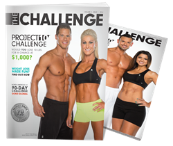 The Challenge Magazine features the Project 10 Challenge from Body By Vi.