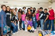 Women Veterans Interactive House Warming Party for homeless woman veteran and her 4 children