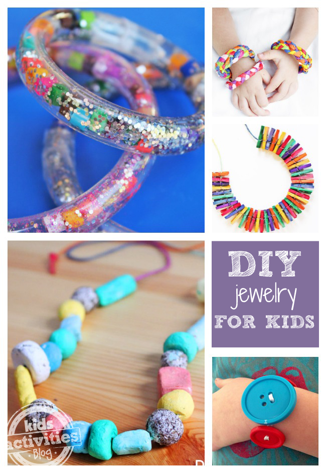 Diy Jewelry Has Been Released On Kids Activities Blog