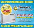 home generator repairs