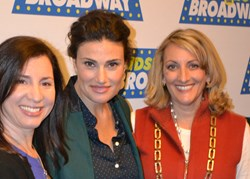 Idina Menzel and KidzVuz