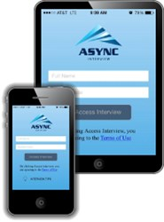 Async Interview Mobile Video Interviewing