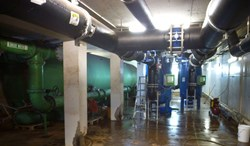 Sand filters, Aquatic Filtration, Resort pools, commercial pools, Sheraton, Neptune-Benson