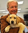 Guiding Eyes for the Blind's President and CEO, William D. Badger, will retire after a twenty-year tenure with the organization