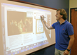 English classes using interactive technology
