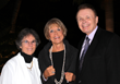 SMOA president Wendy Surkis, SMOA board member and Ringling College trustee Elaine Keating and Ringling College president Dr. Larry R. Thompson  (L-R)