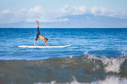 By introducing SUP yoga, we are able to offer guests a truly unique experience, in which they can bring their yoga practice to the next level or simply just try their hand at something that's a lot of fun.""