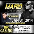 Zach Matari Opens for R&B Superstar MARIO