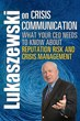 Masterwork on Crisis Communication and Reputation Risk by Top PR...