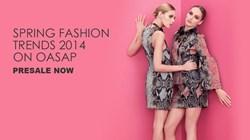 Spring Trends, Trends 2014