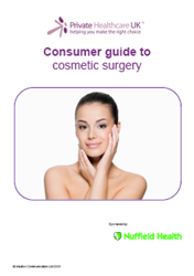 Nuffield Health to sponsor The Cosmetic Surgery Guide.