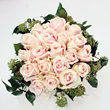 Blushbaby pink rose bouquet