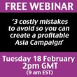 David Clive Price Announces New Webinar on Doing Business in Asia
