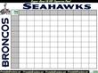 Super Bowl Squares Highlight the New Collection of Super Bowl Party...