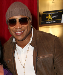 LL Cool J grabs BioXGenic at the Grammy Awards