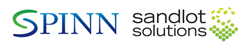 SPINN and Sandlot Solutions Logo