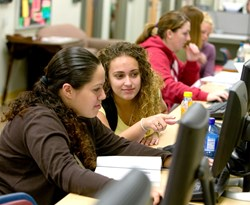 photo: About 99% of Alvernia students receive some type of financial aid.
