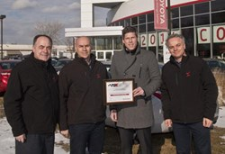 Toyota Certifies Two CARSTAR Collision Centres in Hamilton