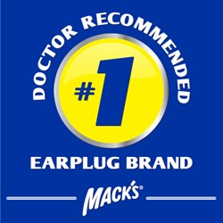 Mack's is still the #1 Doctor Recommended Earplug Brand according to recent research conducted by the Business Research Group