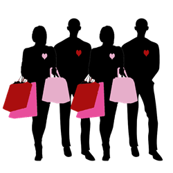 retail valentines day marketing ideas